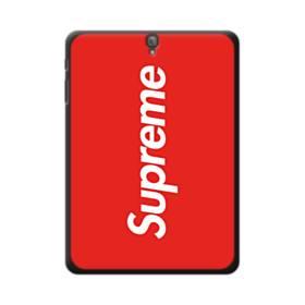 ニューヨークより赤のシュプリーム(super me) Samsung Galaxy Tab S3 9.7 ポリカーボネート ハードケース