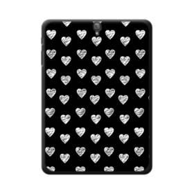 ハートのパターン Samsung Galaxy Tab S3 9.7 ポリカーボネート ハードケース