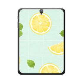 レモンのパターン008 Samsung Galaxy Tab S3 9.7 ポリカーボネート ハードケース