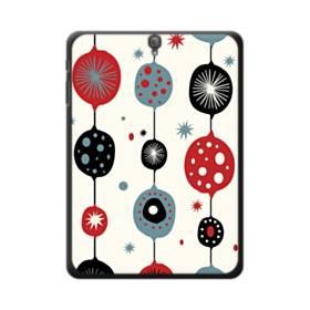 クリスマス アートなデコレーション Samsung Galaxy Tab S3 9.7 ポリカーボネート ハードケース