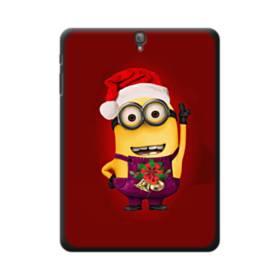メリー クリスマス かわいいミニオンズ Samsung Galaxy Tab S3 9.7 ポリカーボネート ハードケース
