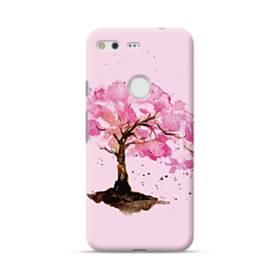水彩画・桜の木 Google Pixel ポリカーボネート ハードケース