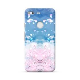 桜の花びら Google Pixel ポリカーボネート ハードケース