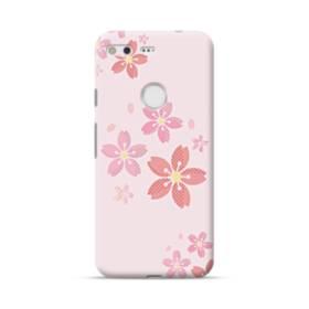 春・桜の花001 Google Pixel ポリカーボネート ハードケース