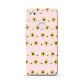 花 モチーフ flower motif Google Pixel ポリカーボネート ハードケース