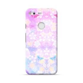 爛漫・抽象的な桜の花 Google Pixel ポリカーボネート ハードケース