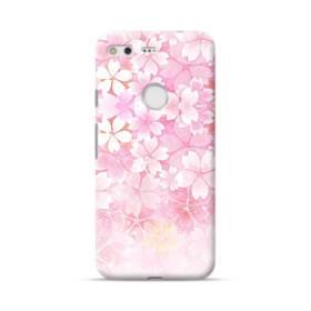 爛漫・ピンク&桜色 Google Pixel ポリカーボネート ハードケース
