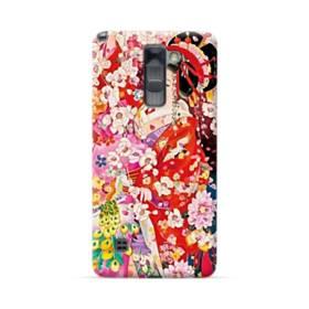 和・花魁&桜 LG Stylus/Stylo 2 /Plus ポリカーボネート ハードケース
