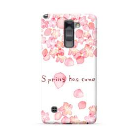 桜&デザイン英文 LG Stylus/Stylo 2 /Plus ポリカーボネート ハードケース
