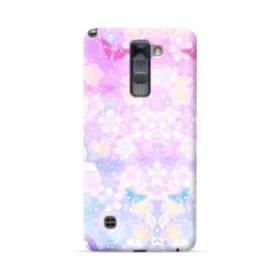 爛漫・抽象的な桜の花 LG Stylus/Stylo 2 /Plus ポリカーボネート ハードケース