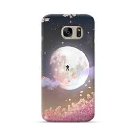 爛漫・夜桜&私たち Samsung Galaxy S7 ポリカーボネート ハードケース