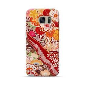 和・花柄 Samsung Galaxy S7 ポリカーボネート ハードケース