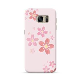 春・桜の花001 Samsung Galaxy S7 ポリカーボネート ハードケース