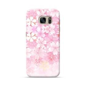 爛漫・ピンク&桜色 Samsung Galaxy S7 ポリカーボネート ハードケース