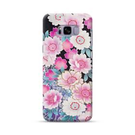 和の花柄 Samsung Galaxy S8 Plus ポリカーボネート ハードケース