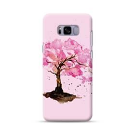 水彩画・桜の木 Samsung Galaxy S8 Plus ポリカーボネート ハードケース