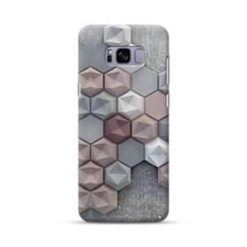 つぶつぶ六角形 Samsung Galaxy S8 Plus ポリカーボネート ハードケース