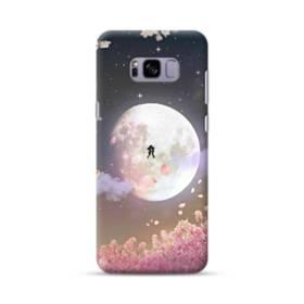 爛漫・夜桜&私たち Samsung Galaxy S8 Plus ポリカーボネート ハードケース