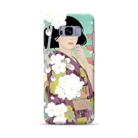 ザ・桜&ジャパンガール! Samsung Galaxy S8 Plus ポリカーボネート ハードケース