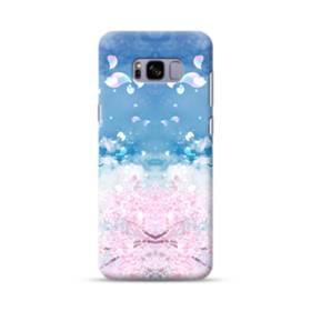 桜の花びら Samsung Galaxy S8 Plus ポリカーボネート ハードケース