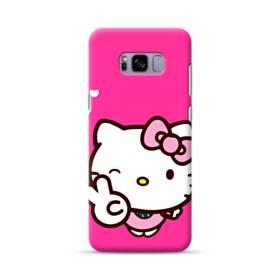 永遠に可愛い!キティちゃん Samsung Galaxy S8 Plus ポリカーボネート ハードケース