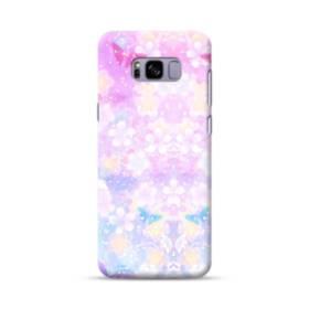 爛漫・抽象的な桜の花 Samsung Galaxy S8 Plus ポリカーボネート ハードケース
