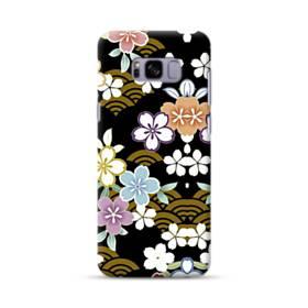 和風・桜&浪 Samsung Galaxy S8 Plus ポリカーボネート ハードケース