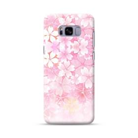爛漫・ピンク&桜色 Samsung Galaxy S8 Plus ポリカーボネート ハードケース