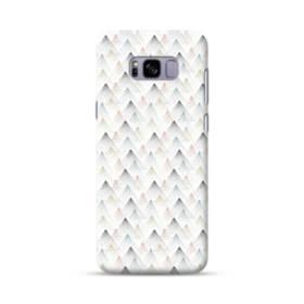可愛い抽象的三角モチーフ Samsung Galaxy S8 Plus ポリカーボネート ハードケース