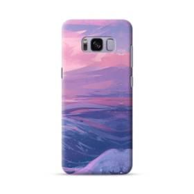 抽象的・富士山&海 Samsung Galaxy S8 ポリカーボネート ハードケース