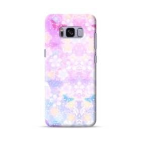 爛漫・抽象的な桜の花 Samsung Galaxy S8 ポリカーボネート ハードケース