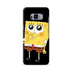 可愛いスポンジボブ Samsung Galaxy S8 ポリカーボネート ハードケース