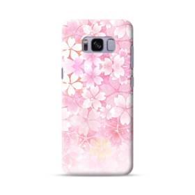 爛漫・ピンク&桜色 Samsung Galaxy S8 ポリカーボネート ハードケース