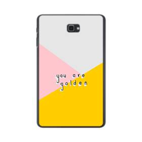 デザイン・アルファベット:You are golden. Samsung Galaxy Tab A 10.1 ポリカーボネート ハードケース