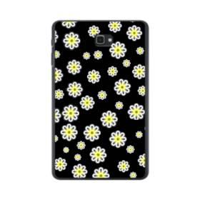 キュートな花のモチーフ Samsung Galaxy Tab A 10.1 ポリカーボネート ハードケース