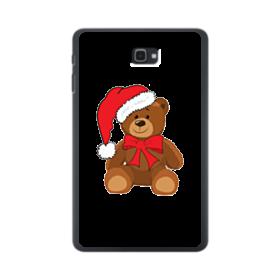 メリー クリスマス 熊ちゃん Samsung Galaxy Tab A 10.1 ポリカーボネート ハードケース