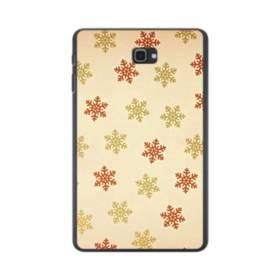 クリスマス デザイン スノー(暖かい風) Samsung Galaxy Tab A 10.1 ポリカーボネート ハードケース