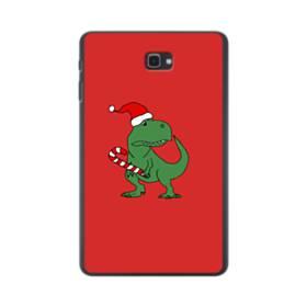 クリスマス 可愛い恐竜さん Samsung Galaxy Tab A 10.1 ポリカーボネート ハードケース