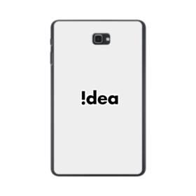 デザイン アルファベット:Idea Samsung Galaxy Tab A 10.1 ポリカーボネート ハードケース
