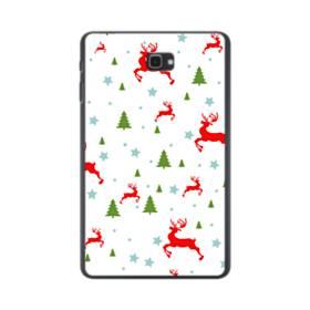メリー クリスマス モチーフ001 Samsung Galaxy Tab A 10.1 ポリカーボネート ハードケース