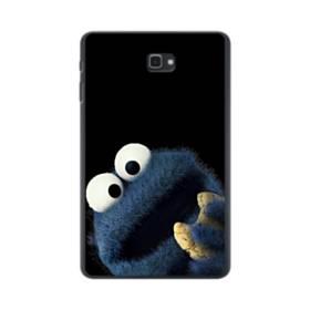 クリスマス クッキー モンスター Samsung Galaxy Tab A 10.1 ポリカーボネート ハードケース