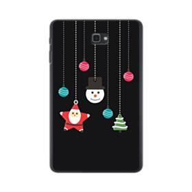 メリー クリスマス デザイン・アクセサリー Samsung Galaxy Tab A 10.1 ポリカーボネート ハードケース