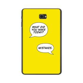 デザイン アルファベット(トーク) Samsung Galaxy Tab A 10.1 ポリカーボネート ハードケース
