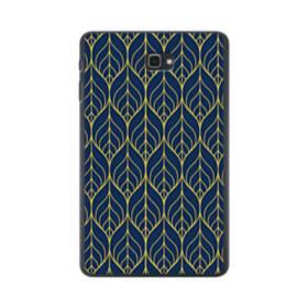 デザイン・アートなパターン:紺&イエロー Samsung Galaxy Tab A 10.1 ポリカーボネート ハードケース