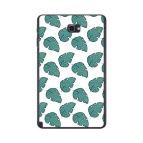 グリーン リーフ モチーフ green leaf motif Samsung Galaxy Tab A 10.1 S-Pen Version ポリカーボネート ハードケース