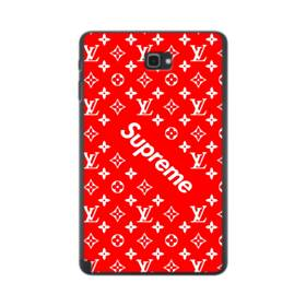 ルイ・ヴィトン&シュプリーム赤バージョン) Samsung Galaxy Tab A 10.1 S-Pen Version ポリカーボネート ハードケース