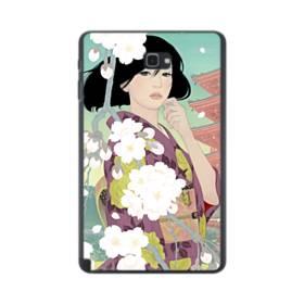 ザ・桜&ジャパンガール! Samsung Galaxy Tab A 10.1 S-Pen Version ポリカーボネート ハードケース