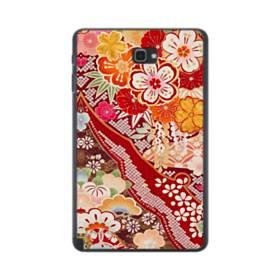 和・花柄 Samsung Galaxy Tab A 10.1 S-Pen Version ポリカーボネート ハードケース