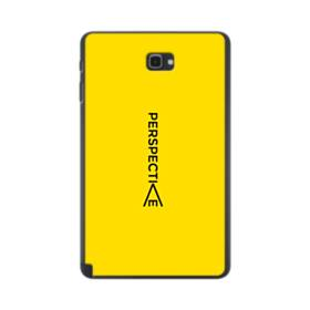 デザイン アルファベット:perspectie Samsung Galaxy Tab A 10.1 S-Pen Version ポリカーボネート ハードケース