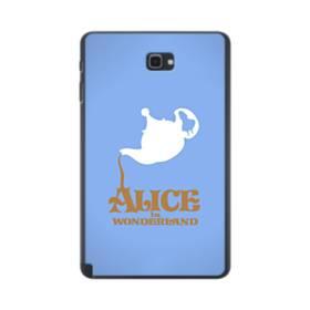アリス イン ワンダーランド  時間の旅・ディズニー映画アート Samsung Galaxy Tab A 10.1 S-Pen Version ポリカーボネート ハードケース